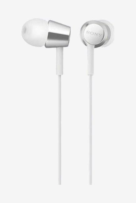 Sony Mdr Ex155Ap Wired Earphones  White