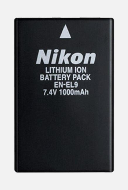 Nikon EN EL9 Lithium Ion Battery  Black