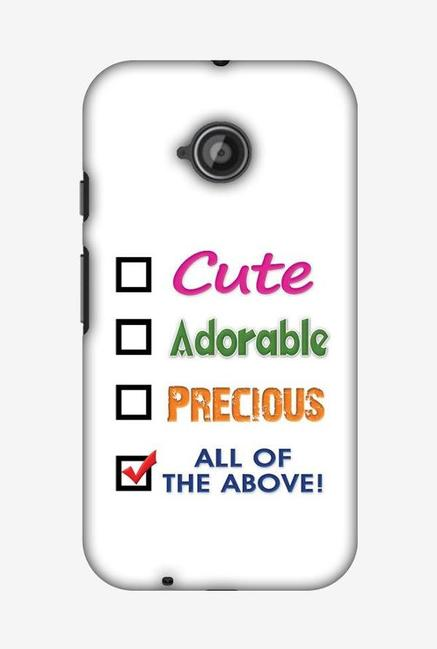 official photos 06069 22552 Buy Amzer Cute Designer Soft Case Back Cover for Moto E2 Online At ...