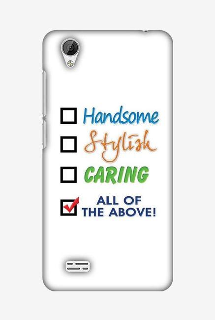 detailed look 1b76a d5ee1 Buy Amzer Handsome Designer Soft Case Back Cover for Vivo Y31 Online ...