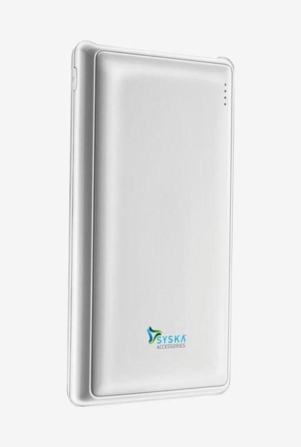 Syska Power Pro 200   20000 mAh Power Bank  White