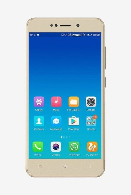 Vivo Y71 Vivo 1724 Mobile Price In India 2018 16gb Gold Model