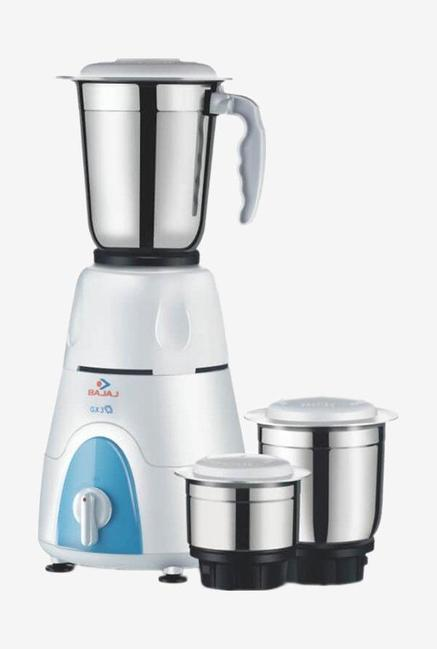 Bajaj GX 8 500W 3 Jars Mixer Grinder (White)