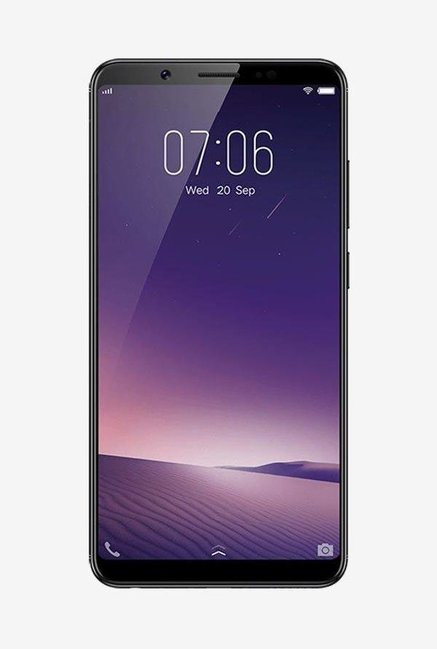Vivo V7 Plus 64GB (Matte Black) 4GB RAM Dual Sim 4G