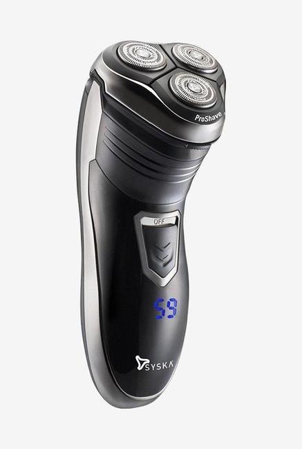 Syska ProShave SH986 Rotary Shaver (Black)