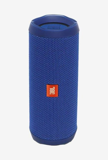 JBL FLIP 4 16 Watts Bluetooth Speaker (Blue)
