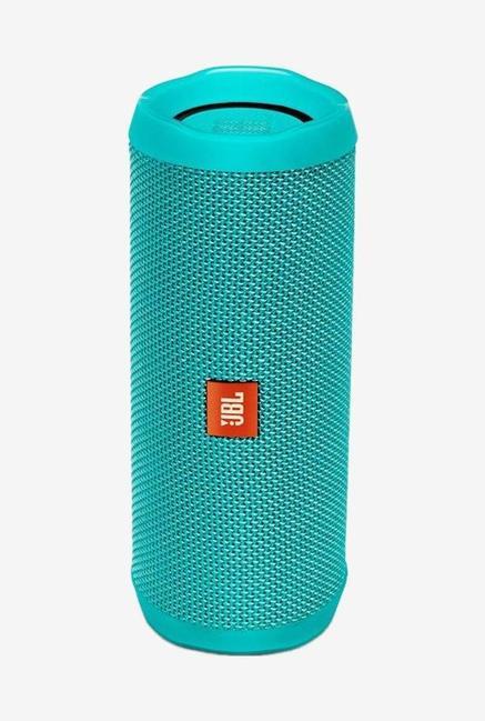 JBL FLIP 4 16 Watts Bluetooth Speaker (Teal)