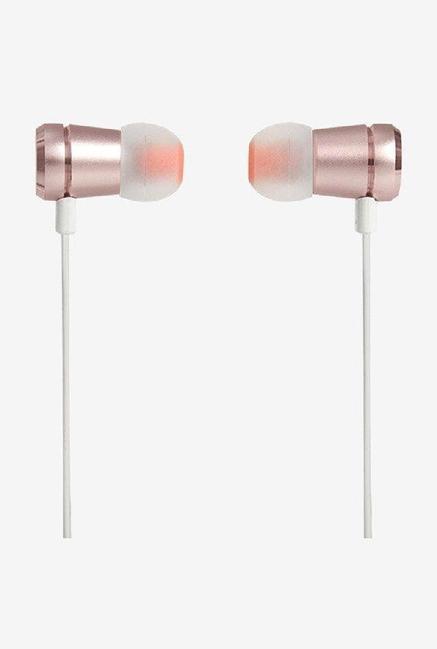 765e94cfd91 Buy JBL T290 W/Mic In The Ear Earphones (Rose Gold) Online At Best ...