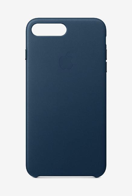 best service c4fce d9f1c Buy Apple Leather Case Cosmos Blue for iPhone 8 Plus/7 Plus Online ...