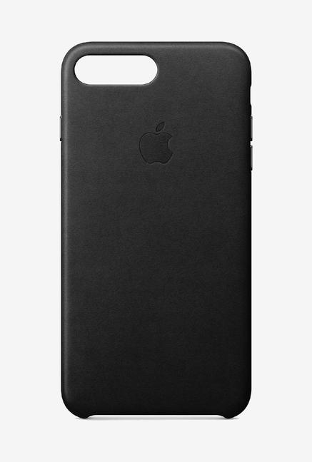 size 40 5b37e b9061 Buy Apple Leather Case Black for iPhone 8 Plus/7 Plus Online At Best ...