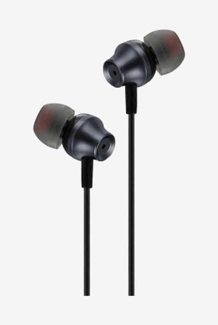 Envent Beatz 307 In the Ear Earphones with Mic  Grey