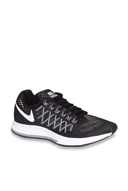 1d24eb063e8 Buy Nike Air Zoom Pegasus 32 Black Running Shoes for Women at ...