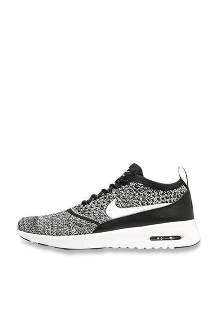58ac0a90e115 Buy Nike Air Max Thea Ultra FK Grey   Black Running Shoes for Women ...