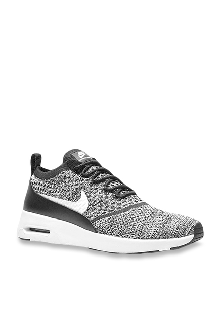 8b666155107c4 Buy Nike Air Max Thea Ultra FK Grey   Black Running Shoes for Women at Best  Price   Tata CLiQ