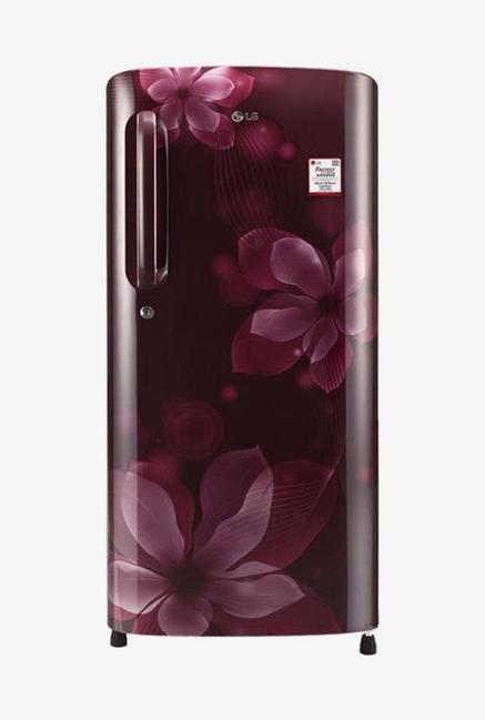 LG GL-B201ASOX 4S 190L Refrigerator (Scarlet Orchid)
