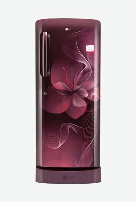 LG GL-D241ASDX 4S 235L Refrigerator (Scarlet Dazzle)
