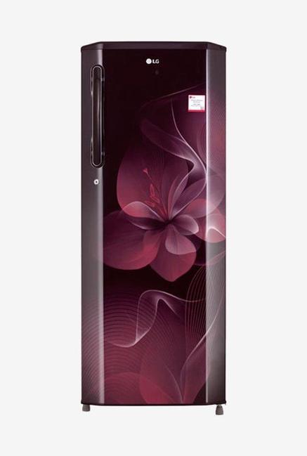 LG GL-B281BSDX 4S 270L Refrigerator (Scarlet Dazzle)