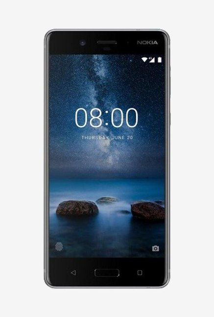 Nokia 8 64GB Steel Mobile