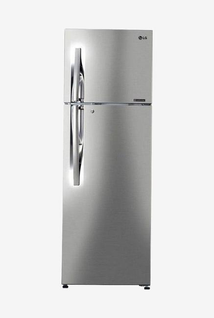 LG GL-C302RPZU 284 L 3 Star Frost Free Double Door Refrigerator, Shiny Steel
