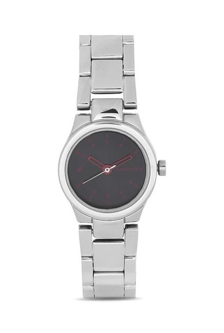 Fastrack NG6114SM02C Analog Black Dial Women's Watch (NG6114SM02C)