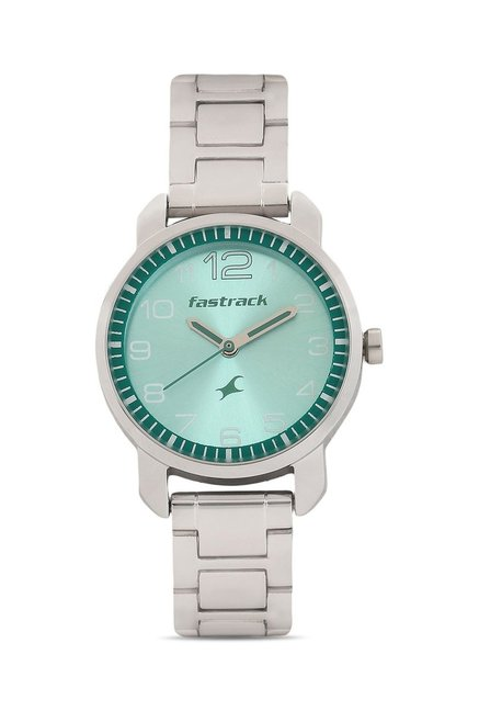 Fastrack 6111SM02 Sea Green Analog Women's Watch (6111SM02)