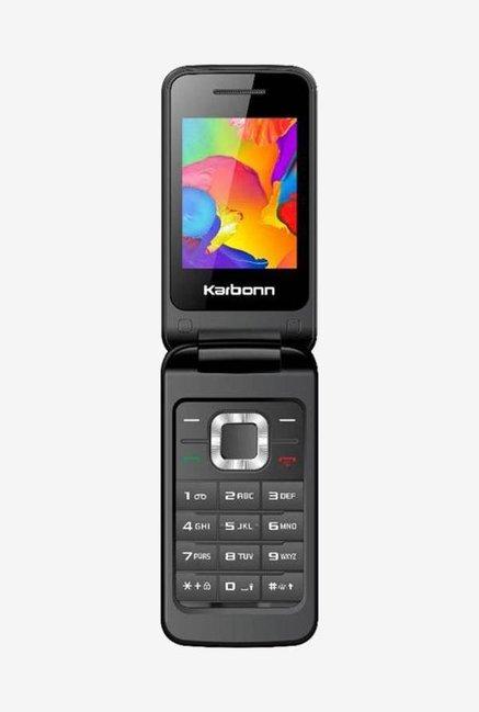 23f639cfb4f Buy Karbonn K Flip (Black) Dual Sim Online At Best Price   Tata CLiQ
