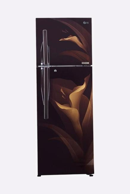 LG GL-T372RALU 335 L 3S Double Door Refrigerator (Amber Luxe)