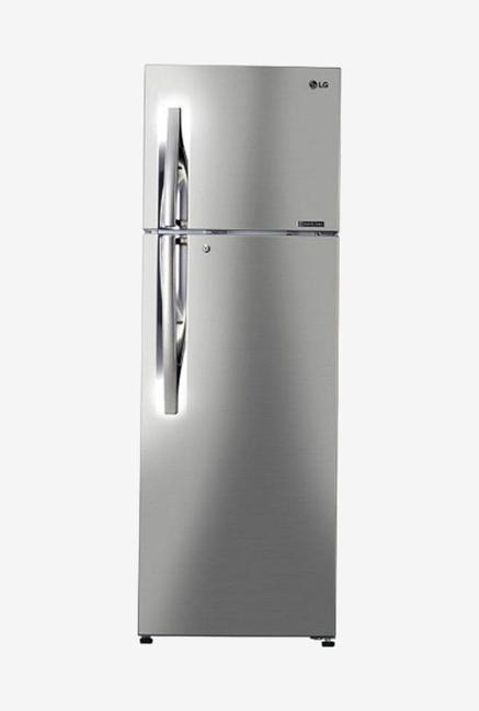 LG GL-C402RPZU 3S 360L Double Door Refrigerator (Shiny Steel)