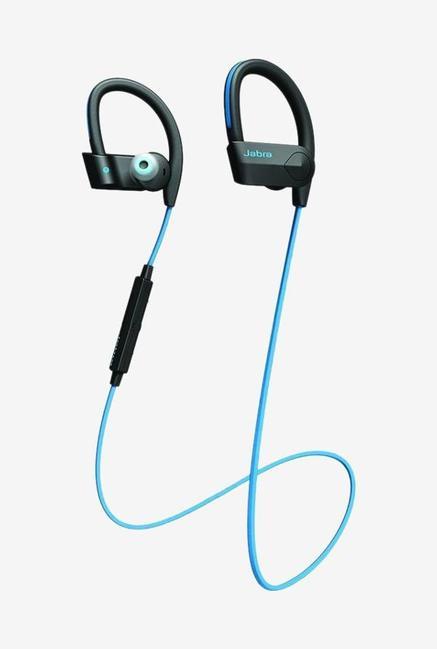 Jabra Sport Pace Bluetooth Earphone With Mic  Black   Blue