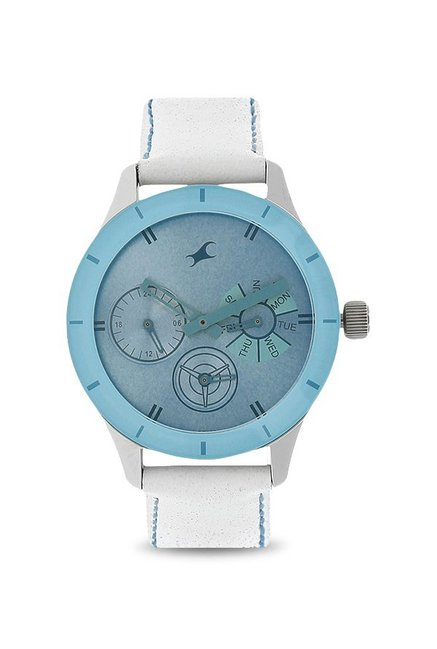 Fastrack NK6078SL08 Monochrome Analog Watch for Women image