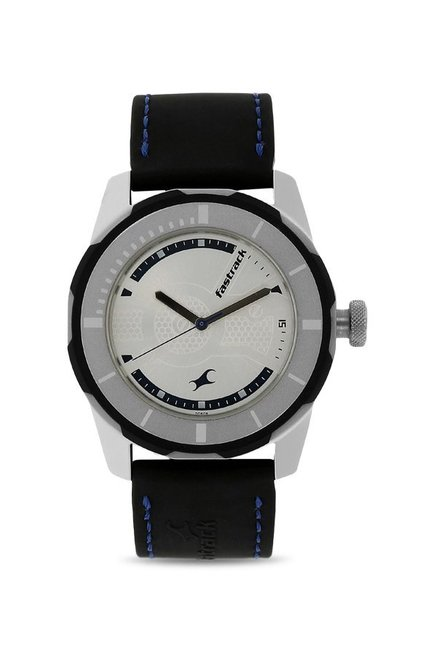 Fastrack 3099SP02 Analog White Dial Men's Watch (3099SP02)