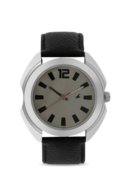 ec57024f1d Buy Fastrack NK3117SL02 Bare Basic Analog Watch for Men at Best Price @  Tata CLiQ