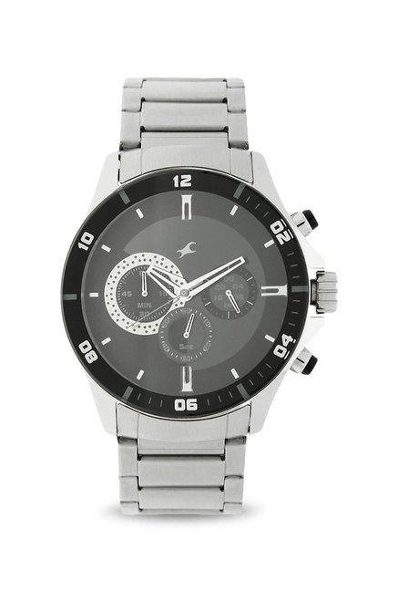 157340a1f Buy Fastrack NK3072SM02 Big Time Analog Watch for Men at Best Price   Tata  CLiQ