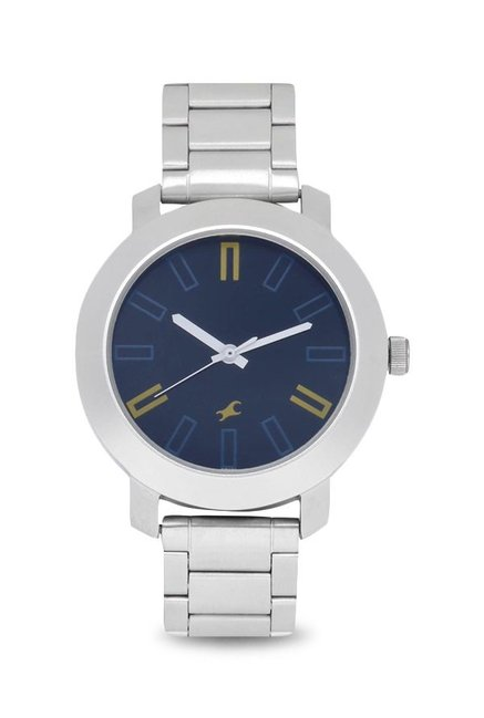 Fastrack NG3120SM02 Casual Analog Navy Blue Dial Men's Watch