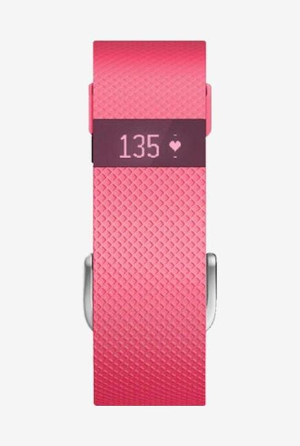 Fitbit Charge HR Large Fitness Band (Pink)