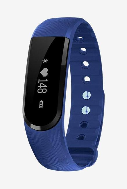 Enhance Limited Edition Ultimate ID 101 HR Premium Fitness Band (Blue)