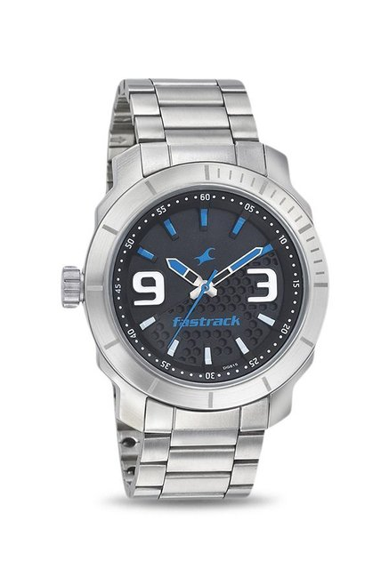 04e554352 Buy Fastrack 3168SM02 Analog Watch for Men at Best Price   Tata CLiQ