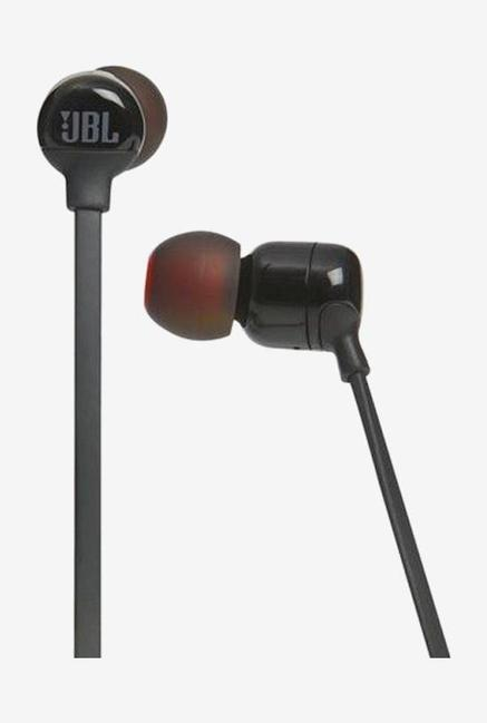 JBL Tune T110BT Bluetooth Earphone with Mic (Black)