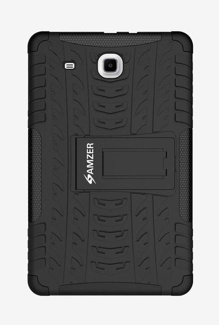 Amzer Hybrid Warrior Case Protective Back Cover for Samsung Galaxy Tab E