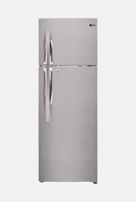 LG GL-T302RPZN 284L 4S Refrigerator (Shiny Steel)