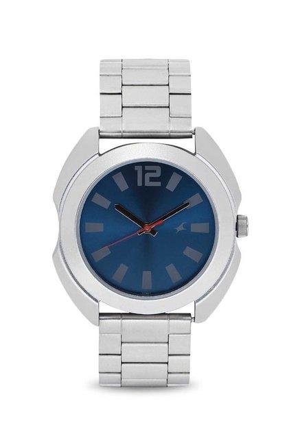 Fastrack 3117SM02 Bare Basics Analog Men's Watch