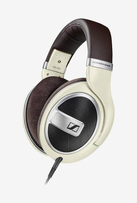 Sennheiser HD 599 Over the Ear Headphone  Ivory