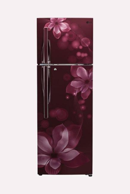 LG GL-T292RSOU 260 L 3S Frost Free Refrigerator (Scarlet Orchid)