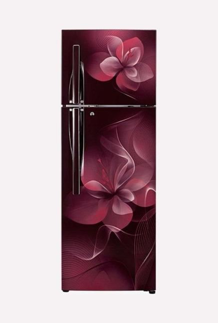 LG GL-T292RSDN 260 L 4S Frost Free Refrigerator (Scarlet Dazzle)