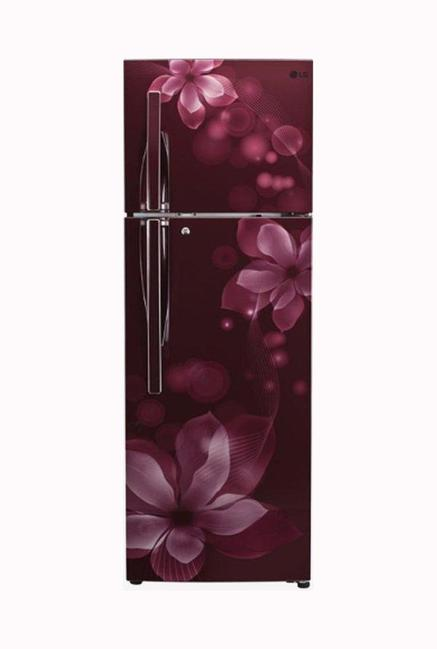 LG GL-T302RSOU 284 L 3S Frost Free Refrigerator (Scarlet Orchid)