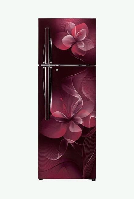 LG GL-T302RSDN 284 L 4S Frost Free Refrigerator (Scarlet Dazzle)