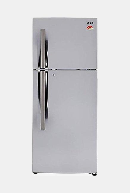 LG GL-T292RPZX 4 Star 260 Liters Double Door Refrigerator (Shiny Steel)