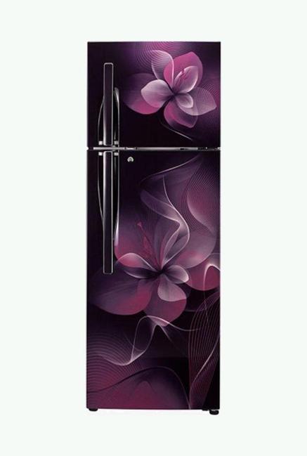 LG GL-T302RSDX 4 Star 284 Liters Double Door Refrigerator (Scarlet Dazzle)