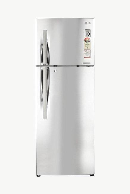 LG GL-T322RPZX 4 Star 308 Liters Double Door Refrigerator (Shiny Steel)