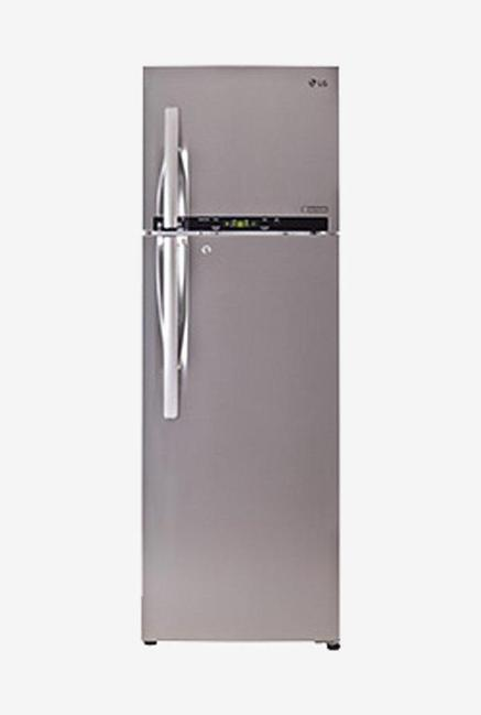 LG GL-T372ENSY 3 Star 335 Liters Double Door Refrigerator (Noble Steel)